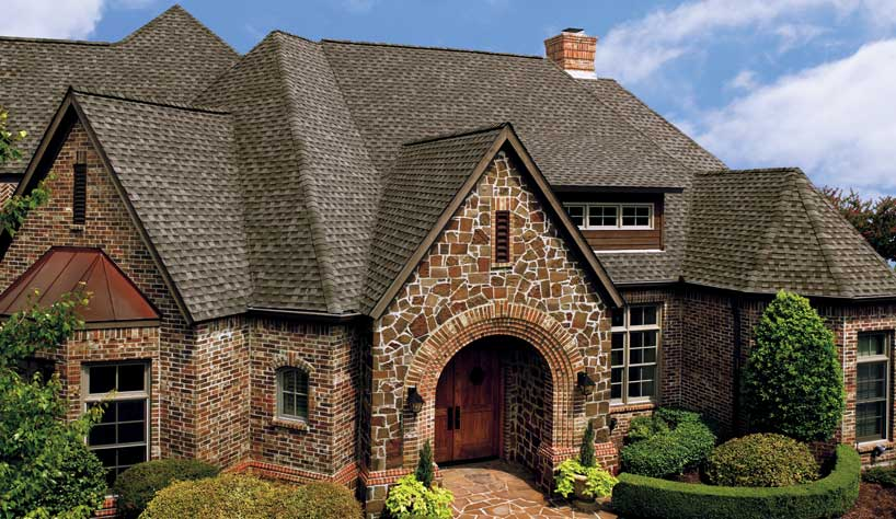 roofing contractor palo alto ca featuring GAF asphalt roofing shingles