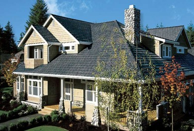 roofing contractors installing boral saxony split shake 600 roof tile
