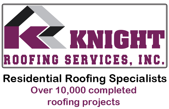 logo for knight roofing services roofers roofing contractors in fremont ca logo